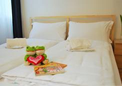 卢加诺中心旅馆 - 卢加诺 - 睡房