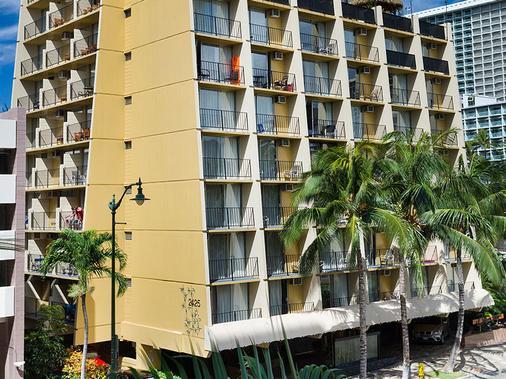 威基基阿瓜竹林酒店 - 檀香山 - 建筑