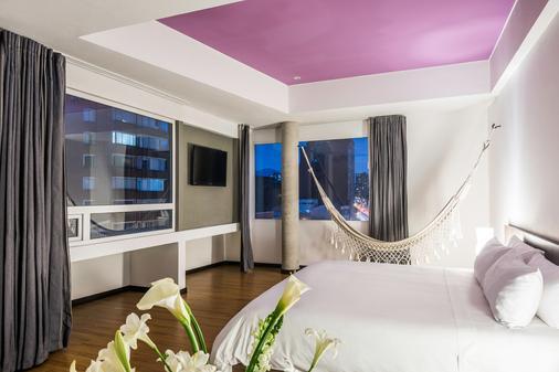 维亚乔 617 号套房酒店 - 波哥大 - 睡房