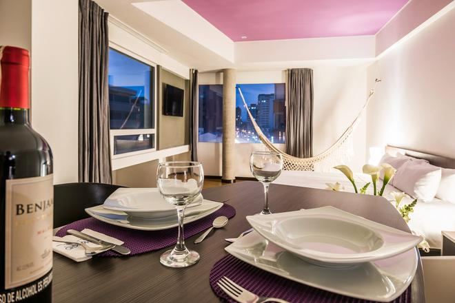 维亚乔 617 号套房酒店 - 波哥大 - 餐厅