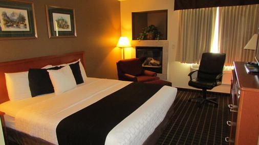 菲布丽酒店及套房 - 莱文沃思(华盛顿州) - 睡房