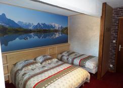 索利酒店 - 莫尔济讷 - 睡房