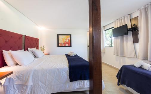 巴拉拉戈阿酒店 - 布希奥斯 - 睡房