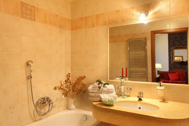 阿里斯顿阿里斯顿沁园酒店 - 布拉格 - 浴室