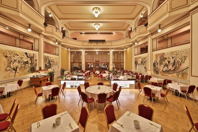 阿里斯顿阿里斯顿沁园酒店 - 布拉格 - 宴会厅