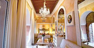 里亚德宫公主酒店 - 马拉喀什 - 睡房