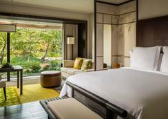 京都四季酒店 - 京都 - 睡房