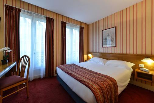 巴黎杜普蕾雷莱斯酒店 - 巴黎 - 睡房