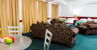 莫拉桑酒店 - 圣荷西 - 睡房