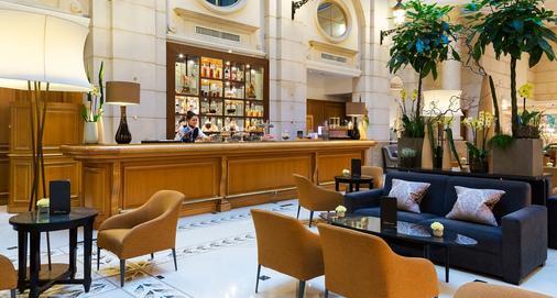 巴黎香榭丽舍万豪酒店 - 巴黎 - 酒吧
