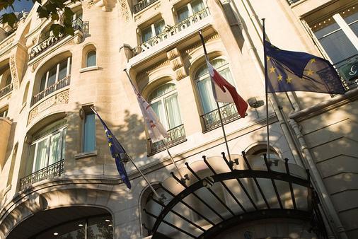 巴黎香榭丽舍大道万豪酒店 - 巴黎 - 建筑
