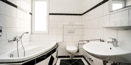 法兰克福城市住宿酒店 - 法兰克福 - 浴室