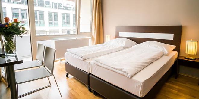 法兰克福智选酒店 - 法兰克福 - 睡房