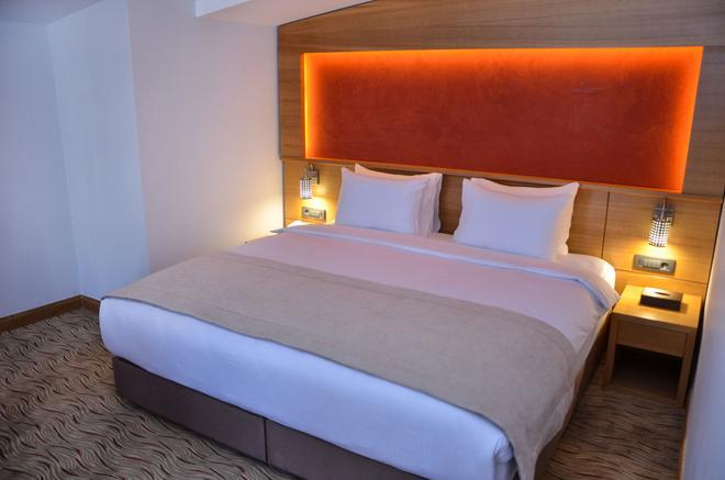 巴卡坎奥特尔酒店 - 艾瓦勒克 - 睡房