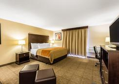 格兰德拉匹兹机场康福特茵酒店 - 大急流城 - 睡房