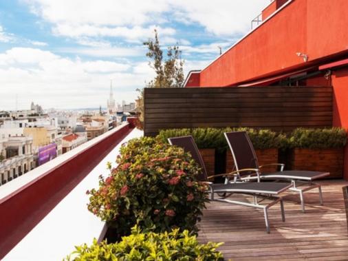 索马温齐酒店 - 马德里 - 阳台