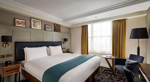 伦敦肯辛顿希尔顿逸林酒店 - 伦敦 - 睡房