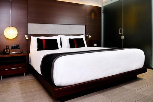 海可城市精品酒店 - 丘拉維斯塔 - 睡房