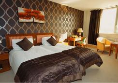 广场酒店塔拉特 - 都柏林 - 睡房