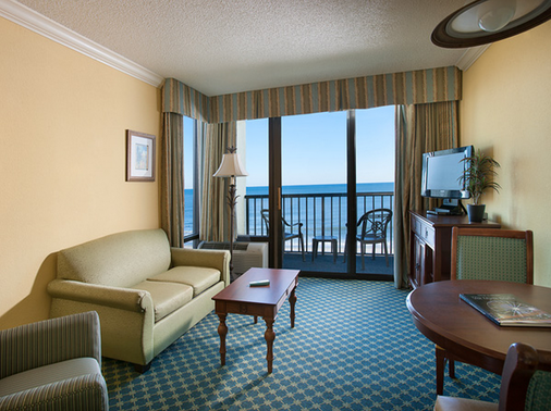 浪翠园海滨度假酒店 - 默特尔比奇 - 客厅