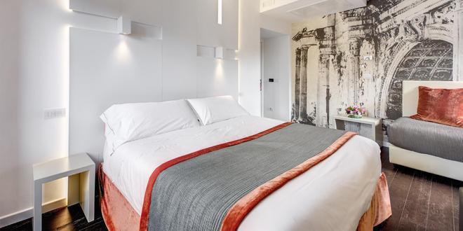 阿布鲁齐酒店 - 罗马 - 睡房
