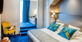 加利亚教堂和努瑟斯 Spa 大酒店 - 卢尔德 - 睡房
