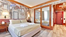 莱昂奥罗酒店 - 维罗纳 - 睡房