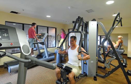 远景岛度假村 - 默特尔比奇 - 健身房