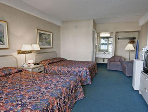 旧金山机场北旅程住宿酒店 - 南旧金山 - 睡房