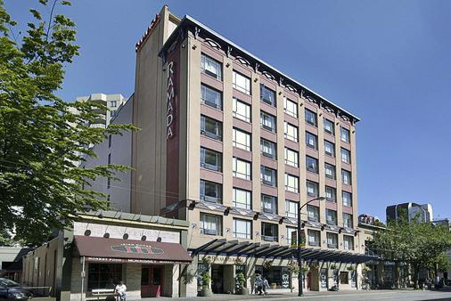 温哥华市区华美达套房酒店 - 温哥华 - 建筑