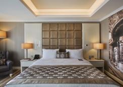 德德曼博斯坦哲伊斯坦布尔酒店及会议中心 - 伊斯坦布尔 - 睡房