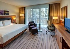 达沃斯希尔顿花园酒店 - 达沃斯 - 睡房