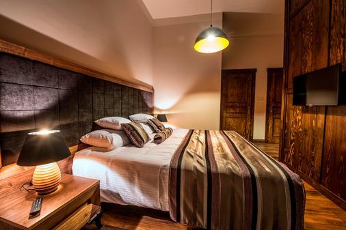图普乐瓦公寓酒店 - 克拉科夫 - 睡房