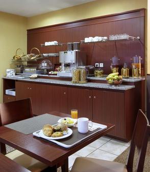 巴黎狄多蒙帕纳斯馨乐庭公寓酒店 - 巴黎 - 自助餐