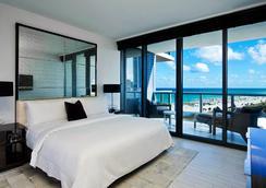 南海滩W度假村 - 迈阿密海滩 - 睡房
