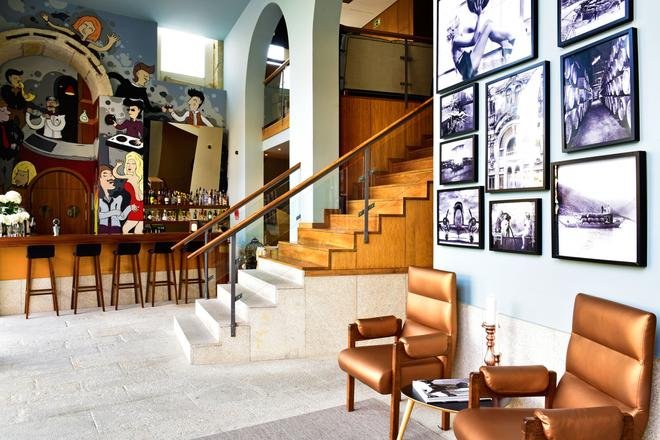 佩斯塔纳复古波尔图酒店-世界传承酒店 - 波尔图 - 酒吧