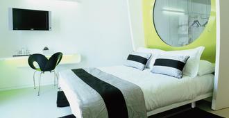 杜阿莫酒店 - 里米尼 - 睡房