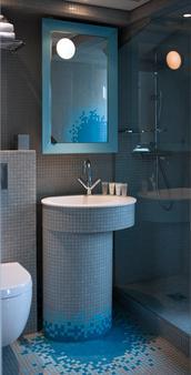 内尔套房酒店 - 贝斯特韦斯特顶级系列 - 巴黎 - 浴室