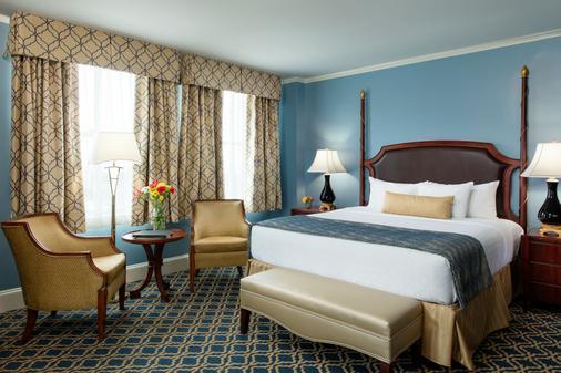 弗朗西斯马里恩酒店 - 查尔斯顿 - 睡房