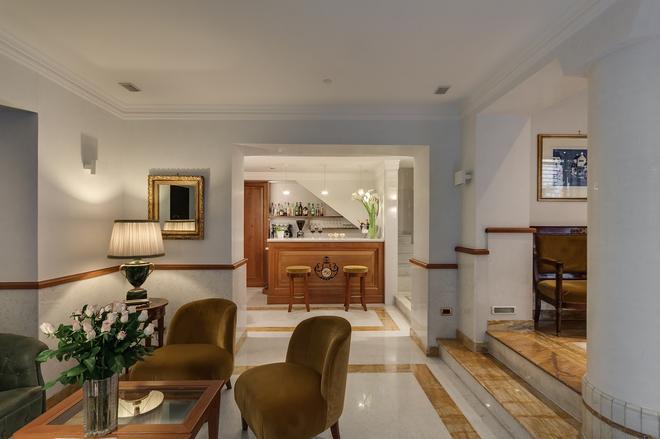 博罗梅奥酒店 - 罗马 - 大厅
