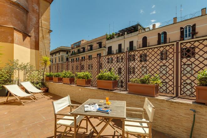 博罗梅奥酒店 - 罗马 - 阳台