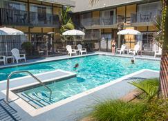 皇冠城堡酒店 - 索尔万 - 游泳池