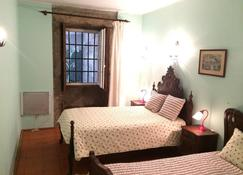 Casa Dos Pombais - 吉马朗伊什 - 睡房