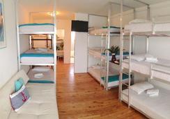 比基尼旅舍、咖啡厅及啤酒花园 - 迈阿密海滩 - 睡房