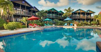 斯坦哈瀑布别墅酒店 - 圣佩德罗 - 游泳池