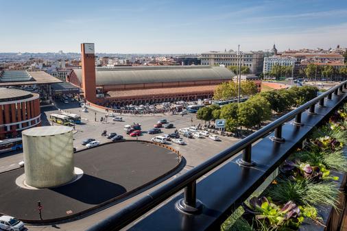 只有你阿托查酒店 - 马德里 - 阳台
