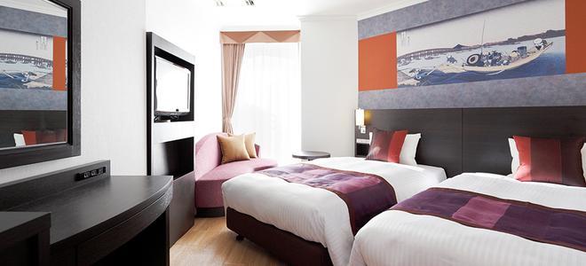 东京两国豪景酒店 - 东京 - 睡房