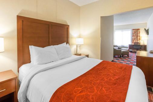 凯富套房酒店 - 温哥华 - 睡房