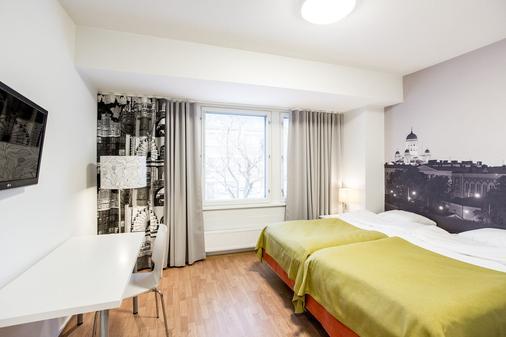 Forenom Aparthotel Helsinki Herttoniemi - 赫尔辛基 - 睡房