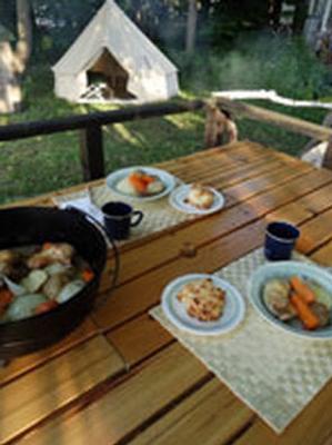 高山背包客酒店 - 富良野 - 食物